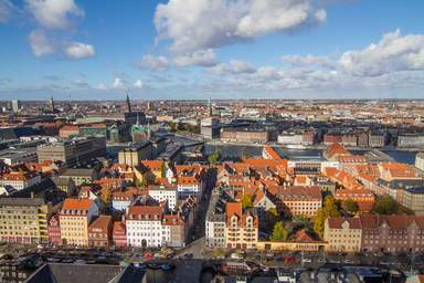 Вид Копенгагена