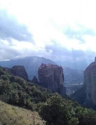 Метеора. Монастырь Св. Троицы