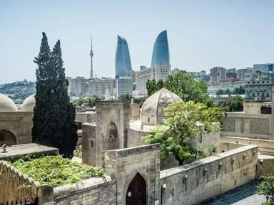 Архитектура трех эпох с самой высокой точки Старого Города
