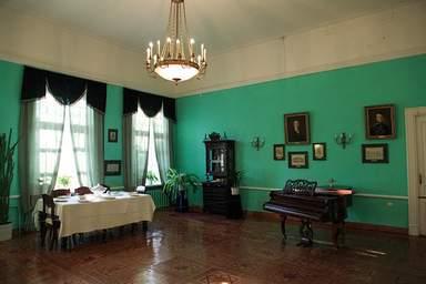 В залах тютчевского музея