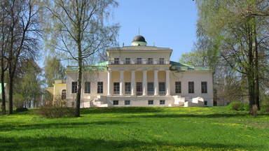 Фасад тютчевского музея в с.Овстуг