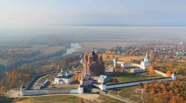 Свенский монастырь- визитная карточка Брянска