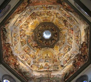 Купол Брунеллески изнутри