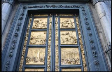 Золотые ворота Гилберти в Баптистерий