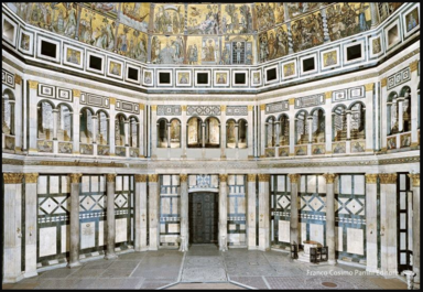 Баптисерий Сан-Джовани (внутри)
