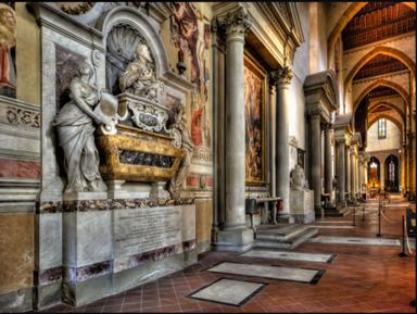 Церковь Санта-Кроче изнутри