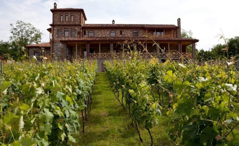 Винодельня в Кварели