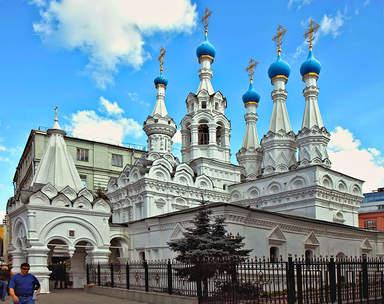 Церковь Рождества Пресвятой Богородицы в Путинках в Москве