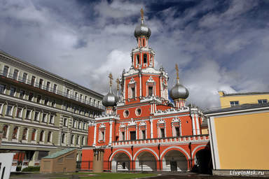 Церковь Знамения на Шереметевом дворе