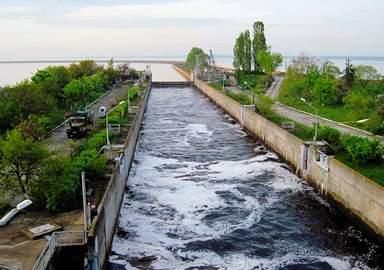 Шлюз Киевской гидроэлектростанции