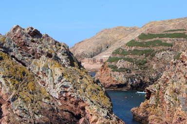 Вид на форт с пристани