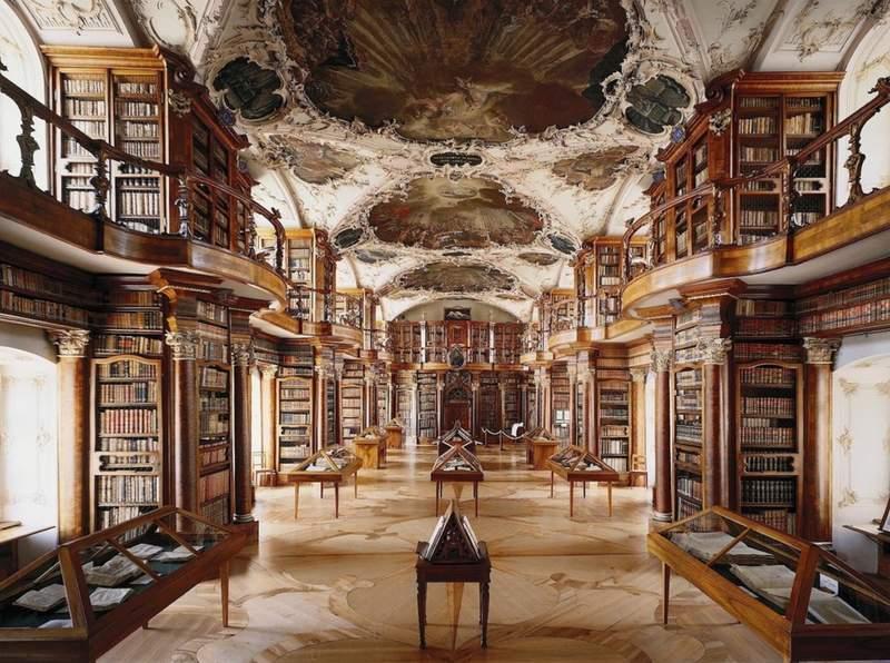 Библиотекa-музей St. Gallen