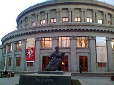 здание оперы и балета