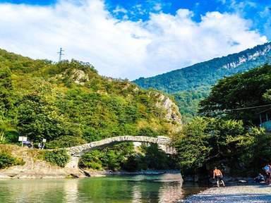 Арочный мост царицы Тамари