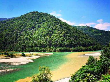 слияние двух рек аджария