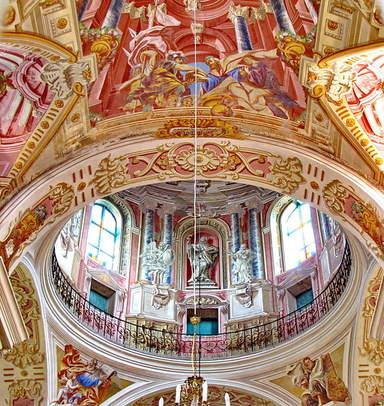 Росписи в костеле Божего Тела