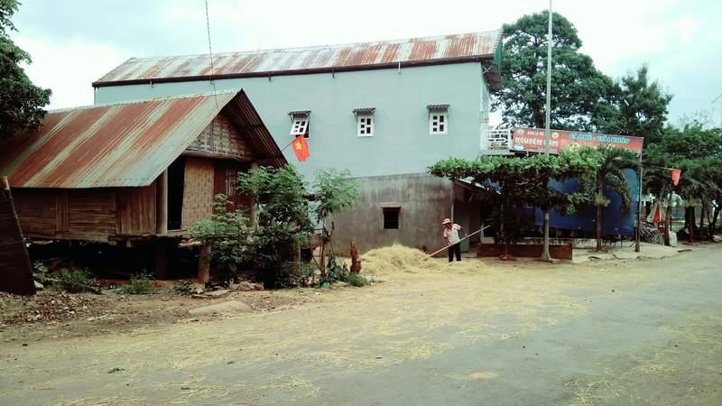 Деревня Мнонгов