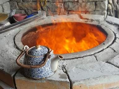 Тендир и чай