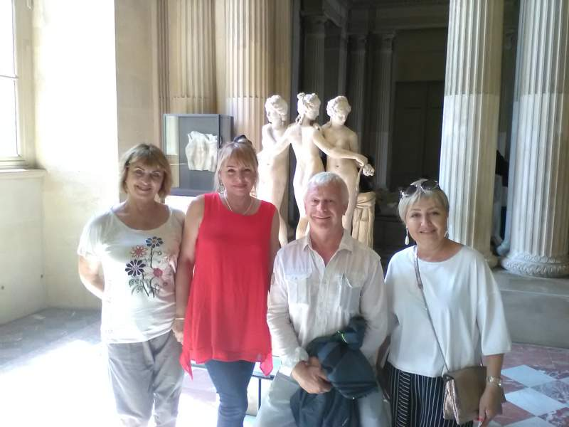 Три грации в Лувре
