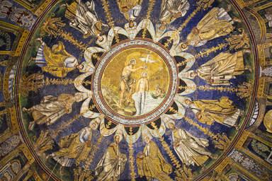 Фреска в монастыре Чертоза Ди Павия