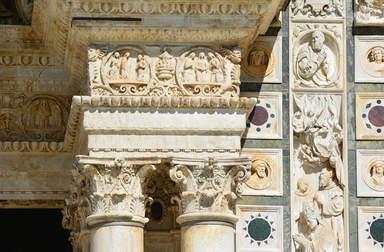 Фасад монастыря Чертоза Ди Павия