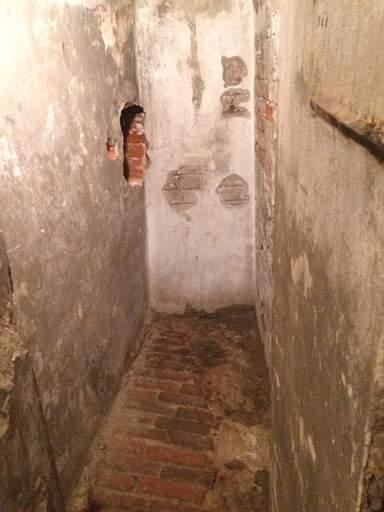 Underground caves of monks
