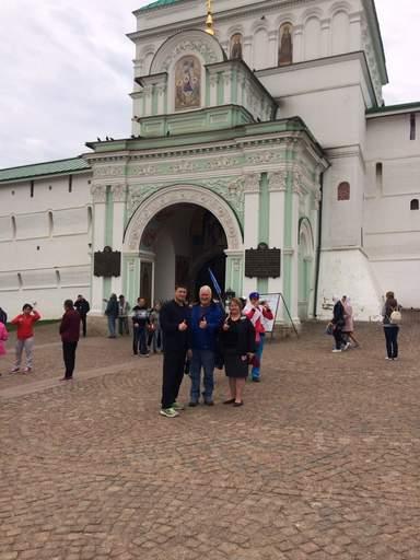 Entrance to Holy Trinity Sergieva Lavra