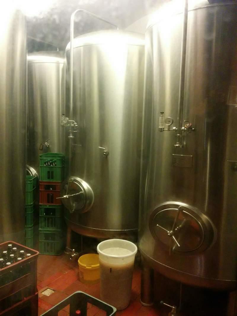 На пивоварне