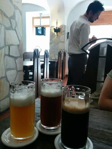 Три сорта пива