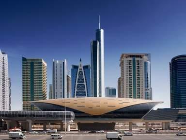Jumeirah Lakes Towers metro station
