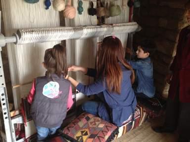 Интерактивный тур по ковроткачеству
