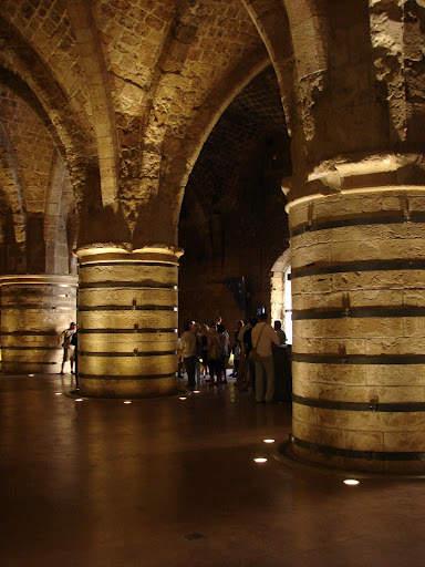 Акко - рыцарские залы