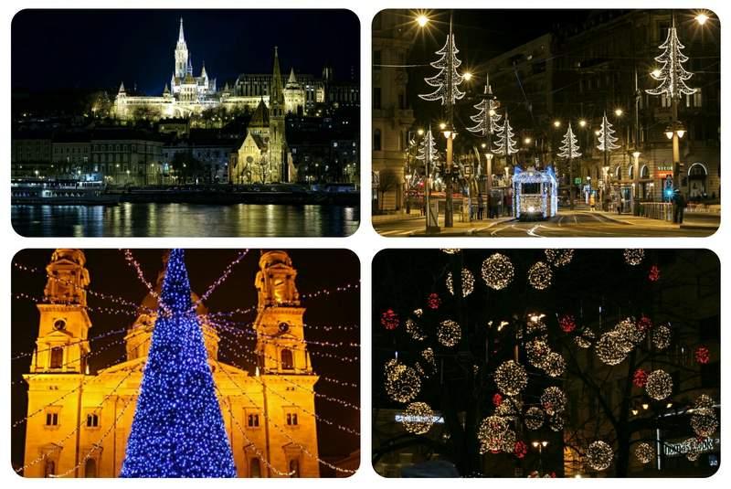 Рождественский Будапешт