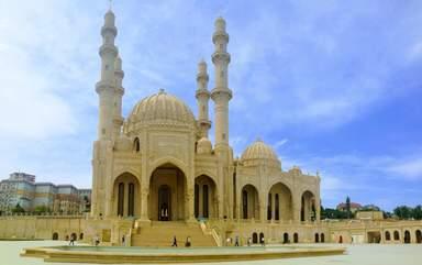 Мечеть Гейдара - панорама
