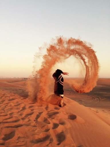 Красно песок ОАЭ