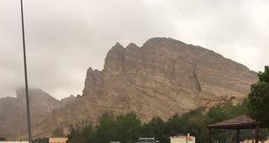 Горы Джабел Хафит