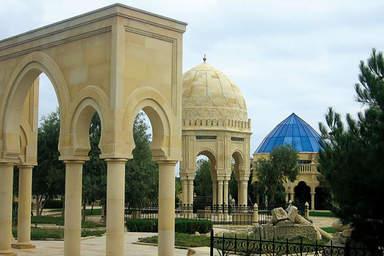 Пир Гасан (святилище) общий вид