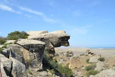 Гобустан - скала