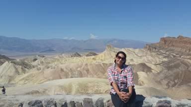 "Долина Смерти, обзорная площадка ""Забри́ски-Пойнт"""