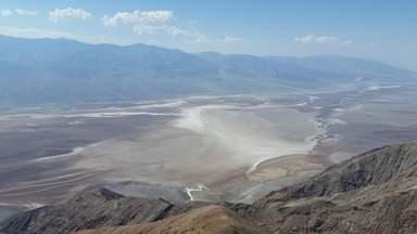 """Долина Смерти с обзорной площадки """"Вид Дантеса"""""""