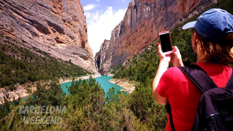 вид на каньон перед походом