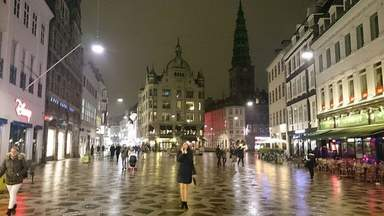 Пешеходная улица Strøget