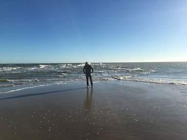 Мыс Гренен, где Северное море встречается с Балтийским