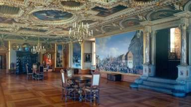 Одна из зал замка Фредериксборг