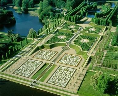 Барочный парк замка Фредериксборг