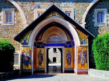 Монастырь Киккос