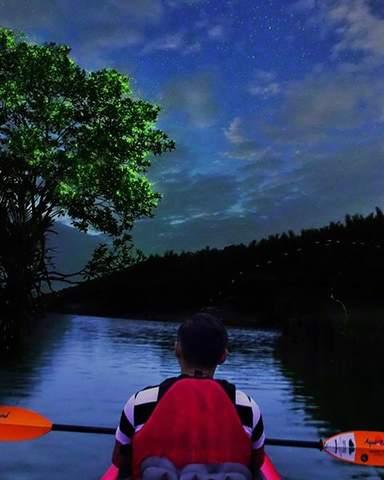 Прогулка на каяке по тропической реке