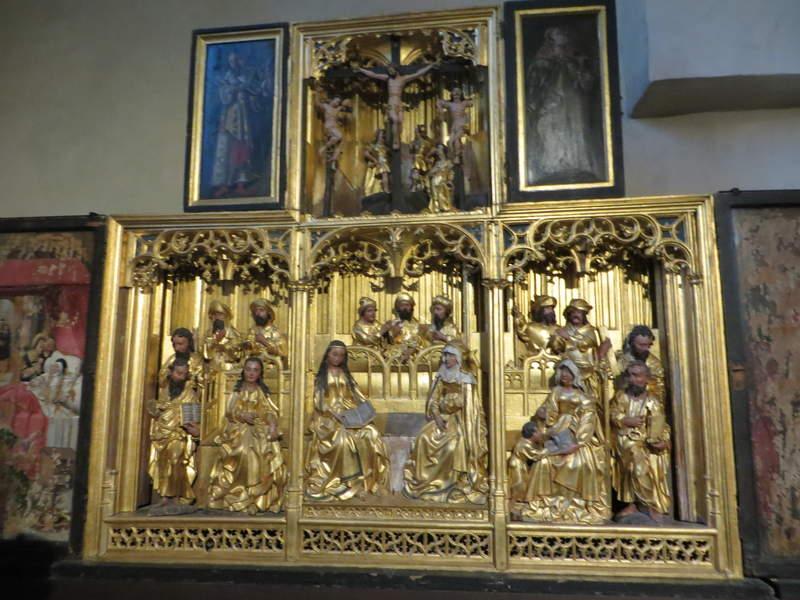 """Алтарь """"Святая родня"""" в церкви Нигулисте"""