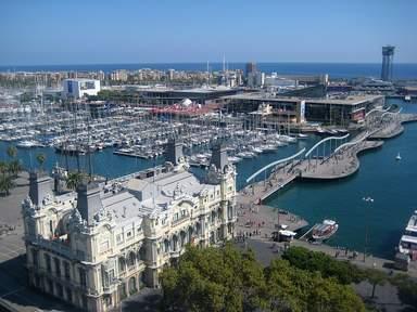 Вид на морскую часть города