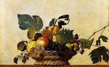 Корзина с фруктами Караваджо, Амвросианская пинакотека